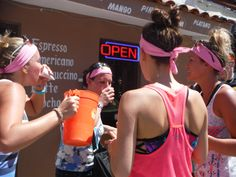 These ladies are doing a GREAT job at tackling their Brain Freeze Challenge!