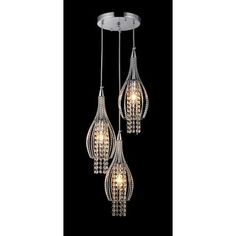 Wine Cup Adjustable Cable Pendant | Overstock.com Shopping - The Best Deals on Chandeliers & Pendants