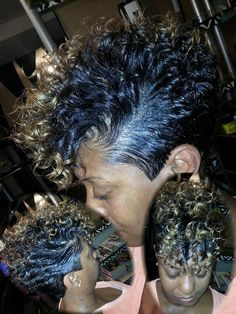 This Mohawk is on point!                                                                                                                                                                                 More