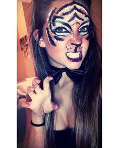 Tiger makeup                                                                                                                                                                                 More