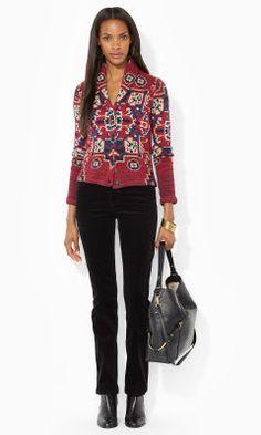 Shawl-Collar Cardigan - Lauren Jeans Co. Cardigans - RalphLauren.com