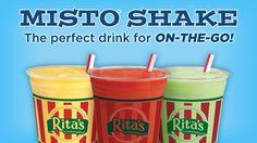 ritas ice milkshakes and misto shakes - Google Search
