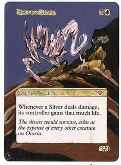 MTG Altered Painted Essence Sliver Legions FREE SHIPPING