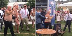 This guy's breaking all the rules on Ladies' Day at Royal Ascot. He's not wearing a hat, as captured by @kid_kong78. Saw yer Da at Royal Ascot earlier pic.twitter.com/C1E212uxPp — Captain Kidd (@kidd_kong78) June 22, 2017 Any resemblance to the Brexit negotiations going on in Brussels right now is purely coincidental. Here it is with …