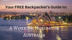 Thinking of taking a Working Holiday in Australia? Australia really is a dream destination but unfortunately traveling in Ozdoesn't come cheap.A year's working holiday in Australia gives yo…