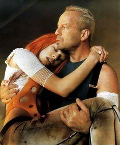 Leeloo & Korben (Milla Jovovich & Bruce Willis), The Fifth Element (1997)