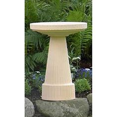 Special Offers - Burley Clay Universal Buff Bird Bath Set - In stock & Free Shipping. You can save more money! Check It (July 22 2016 at 12:23PM) >> http://birdhouseusa.net/burley-clay-universal-buff-bird-bath-set/