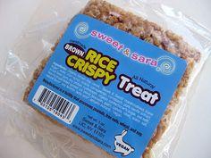 Sweet & Sara Rice Crispy Treat.