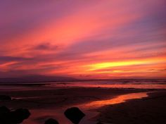 """""""And Strandhill just now! Paddle, Action, Celestial, Sunset, Twitter, Places, Outdoor, Outdoors, Group Action"""