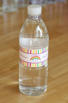 How-to} Make Custom Water Bottle Labels | Custom water bottles and ...