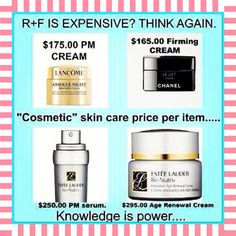TOO EXPENSIVE YOU SAY???? Are these FANCY JARS and HIGH ITEM PRICES leaving you with ZERO results? It's time to check out Rodan + Fields®!!!! CLINICALLY PROVEN RESULTS with a 60 day, empty jar, money-back guarantee!!!