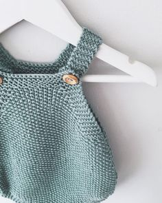 Child Romper Knitting Sample - Mio Knitted Playsuit PDF Knitting Sample - Prompt Obtain Baby Knitting Patterns, Knitting Baby Girl, Baby Patterns, Baby Knits, Crochet Patterns, Baby Romper Pattern Free, Baby Jumpsuit, Playsuit Romper, Knitted Romper