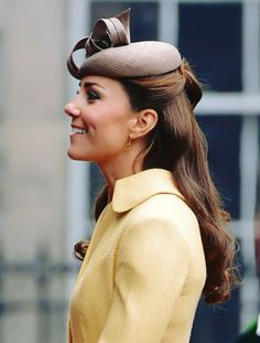 Kate Catherine Middleton Duchess of Cambridge..always engaged in what is around her; always lovely