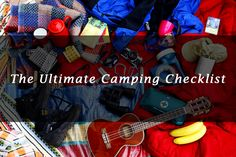 The Ultimate Camping Checklist for Family and Couples