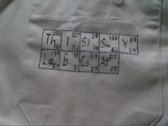 Lab coat art.