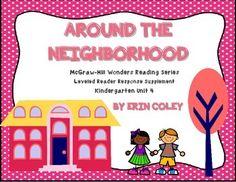 McGraw-Hill Wonders Leveled Reader Response Unit 4: Around the Neighborhood