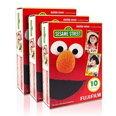 Fujifilm Instax Mini Sesame Street Elmo 30 Film for Fuji 7s 8 25 50s 90 300 Instant Camera, Share SP-1 Printer Fujifilm http://www.amazon.com/dp/B010RY5MZG/ref=cm_sw_r_pi_dp_4LCBwb1V0SA6J