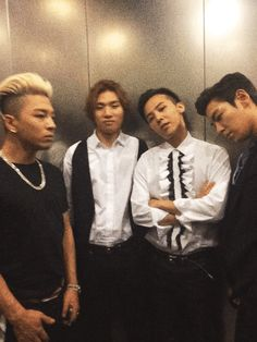 Ok... This is a weird Gif but.. What is TOP staring at?? o.0 G-Dragon's PHHHOTO and IG Updates (140912-13)