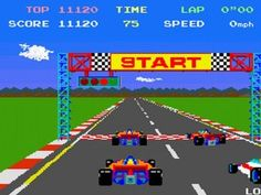 Pole Position--love this game!!!