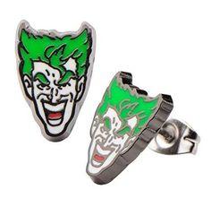 Joker Face Stud Earrings