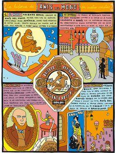 Cómic Historia Anís del Mono por Mauro Entrialgo