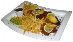 The New York City Big Schnitzel mit Pommes Frittes , Sauce und serviertem Salat für unschlagbare 12,90 €  @TheNewYorkGrill , Lerchenstrasse 47, 72458 Albstadt http://www.newyorkgrill.de