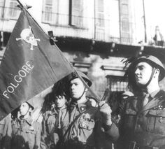 Note the insignia; a fascio on one collar, a german panzer skull(!) on the…