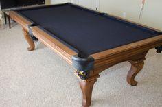 "Bonus room would like horizontal to window if can; Pool table needs 17'6"" * 13'6'"" for proper shooting"