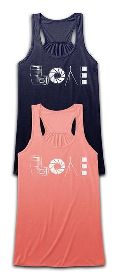 Love photography?! Check out this awesome tank/t-shirt you will not find anywhere else. Not sold in stores! Grab yours or gift it to a friend, you will both love it!