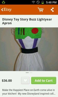 Buzz Lightyear Apron