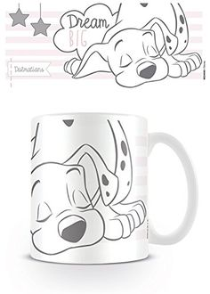 101 Dalmations (Dream Big) Coffee Mug Mickey Mouse, Disney Mickey Ears, Disney Mugs, Papa Roach, Mug Harry Potter, Jack Storms, Big Coffee Mugs, The Beast Movie, Rubber Keychain