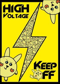 Pikachu-Doorposter