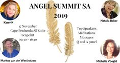 What to expect at this year's Angel Summit SA 2019 Top Speakers, Angel, Messages, Text Posts, Text Conversations, Angels