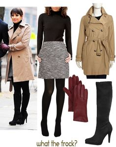 What the Frock? - Affordable Fashion Tips and Trends: Celebrity Look for Less: Lea Michele Style