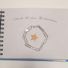 Wenn Buch Idee - Büroklammern: wenn du Mal etwas Halt brauchst
