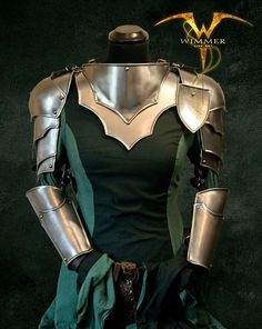 Armor set for women made of metal unique  no by WimmerArts on Etsy