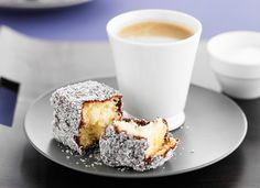 Nothing beats fluffy sponge dipped in chocolate and rolled in coconut - fact. Whether it's Australia Day or just for morning tea, these lamingtons will hit the spot. Yummy Treats, Sweet Treats, Yummy Food, Fun Food, Australian Food, Australian Recipes, Aussie Food, Lamingtons Recipe, Coconut Recipes