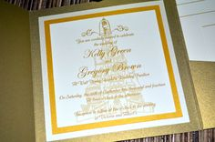 Fairy Tale Wedding Invitations Beauty and the by klmCreative