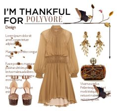 """I'm Thankful for Polyvore Please Read Description"" by conch-lady ❤ liked on Polyvore featuring Alexander McQueen, Nicholas Kirkwood, Chloé, Oscar de la Renta and imthankfulfor"