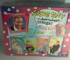 Bill Cosby Board Game Kids Say The Darndest Things TV Series Xmas Birthday Gift