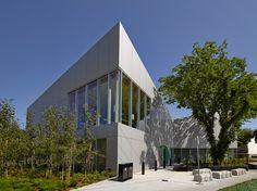highlands branch library by schmidt hammer lassen opens in edmonton, canada