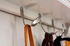 antique spoon hangers