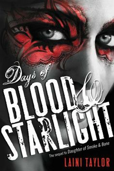 Days of Blood & Starlight (Daughter of Smoke and Bone) by Laini Taylor: Trying to read some lighter stuff, since the last two I read were hard reads. This is the second in the series. It made me nostalgic, this is the type of book I would have really been into in high school, complete with girls with blue hair, magic, drawing and making monsters. Not what I'd call high brow, but hey :) Scroll down if you want to read the first one, which is better.