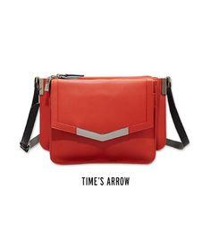 Debut Handbag Line for Fall '13: Time's Arrow (Mini Trilogy Crossbody Bag)