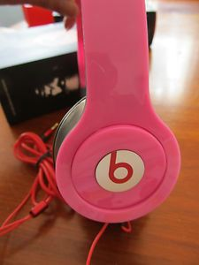 Funky pink Beats headphones!
