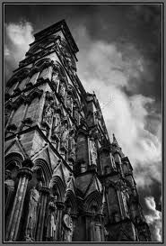 gothic arcitecture and photography. Black White Photos, Black And White, Cathedral Church, Contemporary Interior Design, Gothic Architecture, Visionary Art, Gothic Art, Monochrome, Facade
