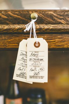 3-IN-1 BEER TAGS — GIFT/CELLAR/SHARE