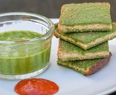 Super Healthy Spinach Dip Toast