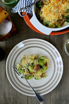 Bacon + Brussels Sprout Gratin l SimplyScratch.com  (24)