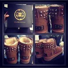 Glamorous Uggs With Studs/ Love them!!!